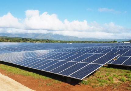 Hệ thống điện năng lượng mặt trời cho một hòn đảo