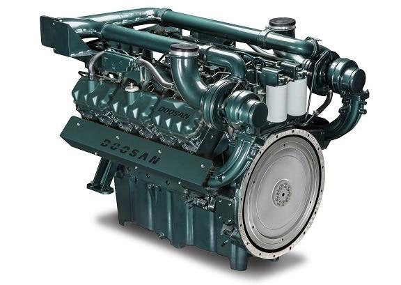 Động cơ máy phát điện Doosan DP222CA