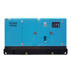 Máy phát điện Doosan có vỏ cách âm