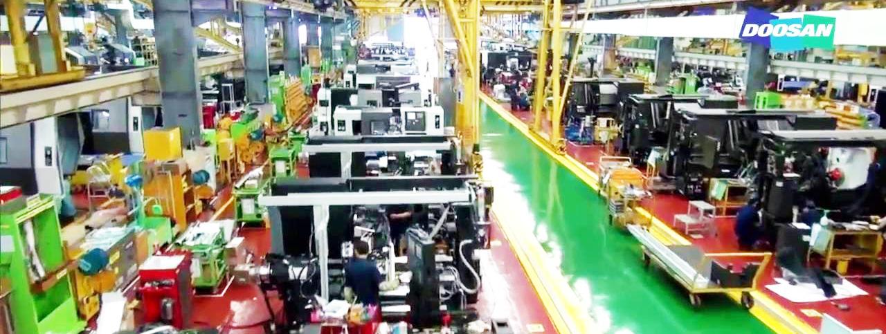 Nhà máy sản xuất động cơ máy phát điện Doosan - Hàn Quốc