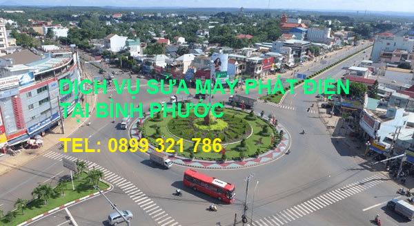 Dịch vụ sửa chữa máy phát điện tại Bình Phước và các tỉnh thành lân cận