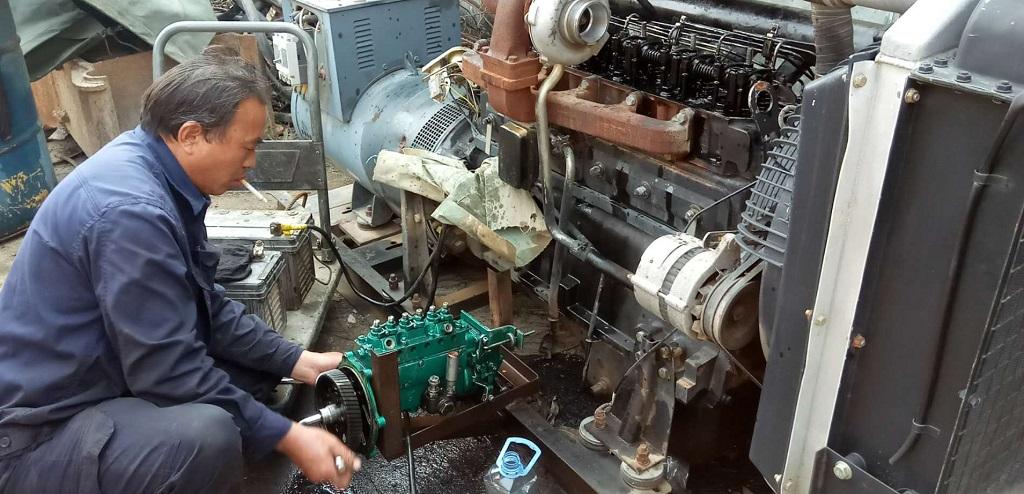 dịch vụ sửa chữa máy phát điện HBA