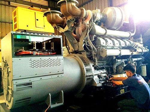 Dịch vụ sửa chữa máy phát điện tại Bình Dương