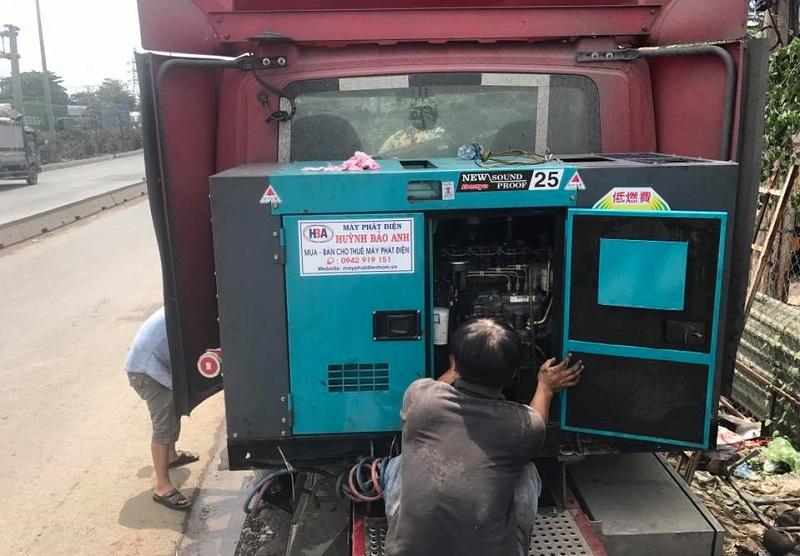 Dịch vụ sửa chữa máy phát điện tại nhà tại TP.HCM