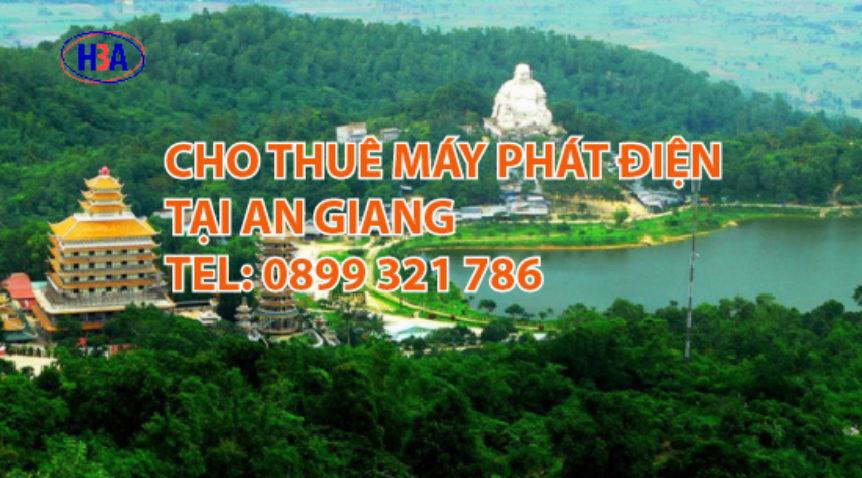 Dịch vụ cho thuê máy phát điện tại An Giang
