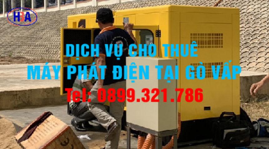 Mua bán cho thuê máy phát điện Quận Gò Vấp