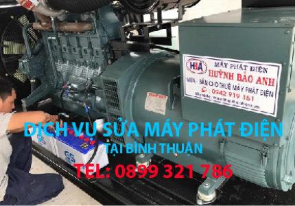 Dịch vụ sửa máy phát điện tại Bình Thuận