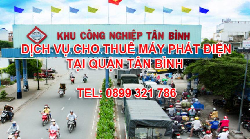 Mua bán cho thuê máy phát điện tại Quận Tân Bình