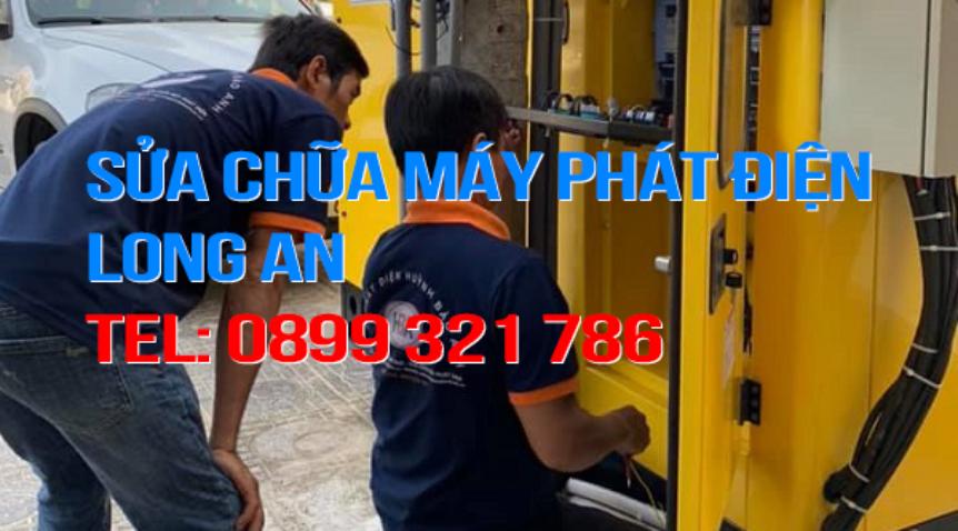 Dịch vụ sửa chữa máy phát điện tại Long An