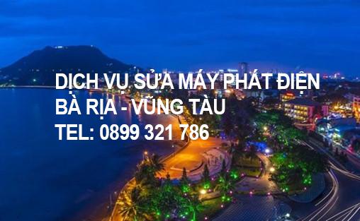 Dịch vụ sửa chữa máy phát điện tại Bà Rịa - Vũng Tàu và các tỉnh thành lân cận.