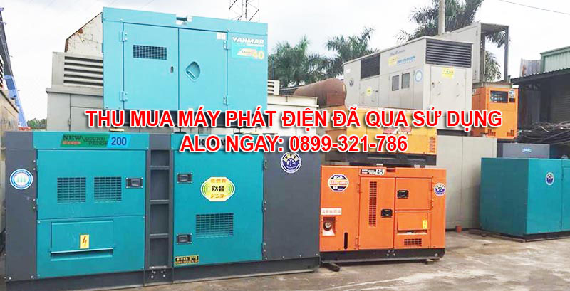 Thu mua máy phát điện cũ – Thanh lý máy phát điện đã qua sử dụng tại Quận 2