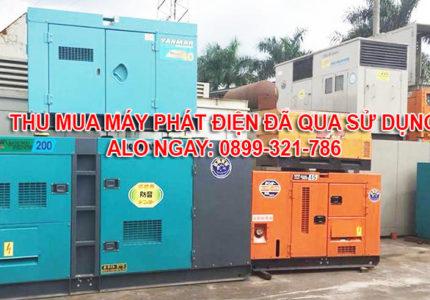 Thu mua máy phát điện cũ tại Bình Thuận giá tốt