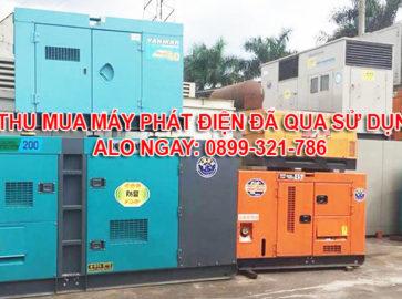 Thu mua máy phát điện cũ tại Đồng Tháp