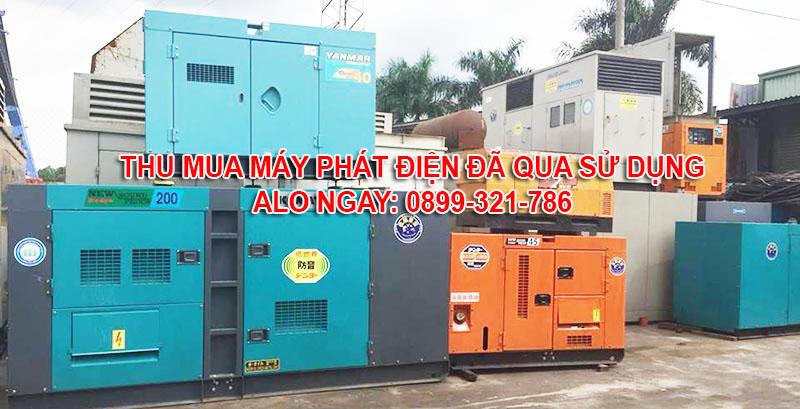 thu mua máy phát điện cũ tại Bình Thuận và các tỉnh thành lân cận
