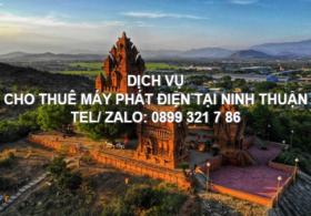 Cho thuê máy phát điện tại Ninh Thuận