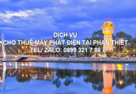 Cho thuê máy phát điện tại thành phố Phan Thiết