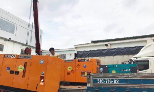 Dự án 3 tổ máy phát điện Denyo cho đóng tàu Minh Đức