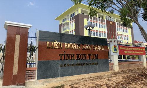Dự án máy phát điện cho Liên đoàn Lao động Kon Tum