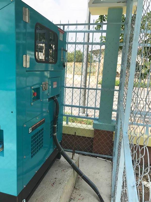 Cung cấp Lắp đặt máy phát điện Cummins 100kVA cho trường THPT Quận 12