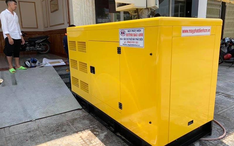 Dự án cung cấp máy phát điện cummins 100kva cho khách sạn Tường Vy