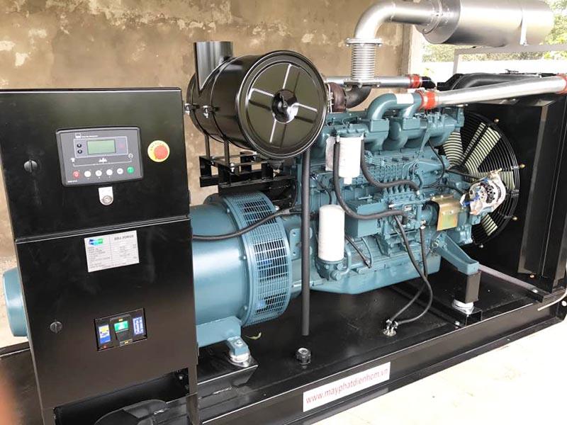 Dự án cung cấp 2 tổ máy phát điện Doosan 320kVA cho trại heo Đồng Nai