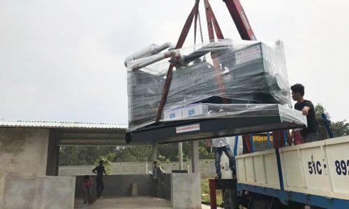 Bộ đôi máy phát điện Doosan 320kVA cho trại heo Đồng Nai