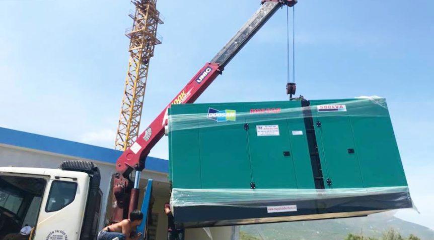 Cung cấp máy phát điện 500kVA cho công ty Hà Châu