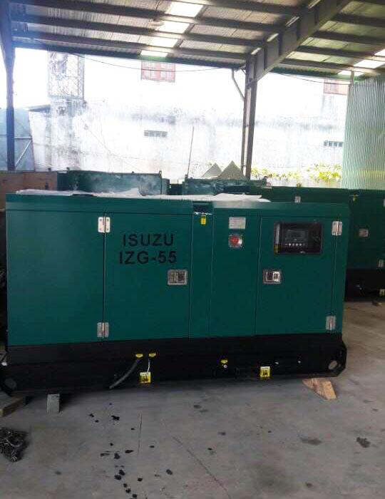 Cung cấp lắp đặt 5 tổ máy phát điện Isuzu 50 kVA cho trại tạm giam 5 huyện Bình Dương