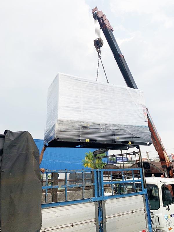 Cung cấp lắp đặt máy phát điện cummins model DE-C82.5 cho trung tâm quang trắc TP Huế