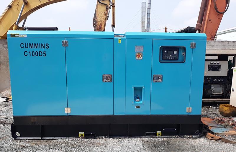 Máy phát điện Cummins 100kva cho khách sạn Huỳnh Mai Phú Quốc