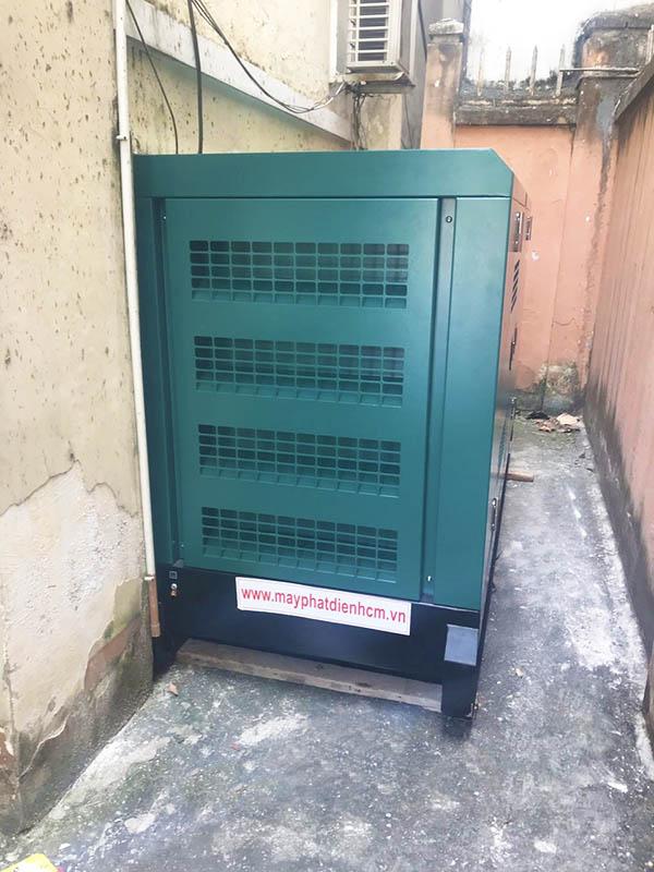 Cung cấp lắp đặt tổ máy phát điện Cummins 40 kVA cho Bộ chỉ huy quân sự Thành Phố Dĩ An Bình Dương