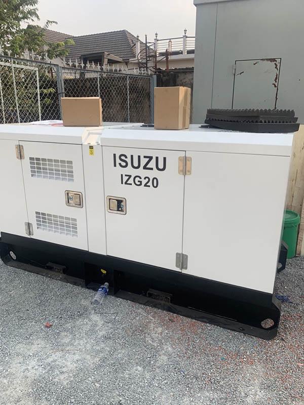 Cung cấp lắp đặt máy phát điện Isuzu 20 kVA cho trung tâm bồi dưỡng chính trị TP Dĩ An