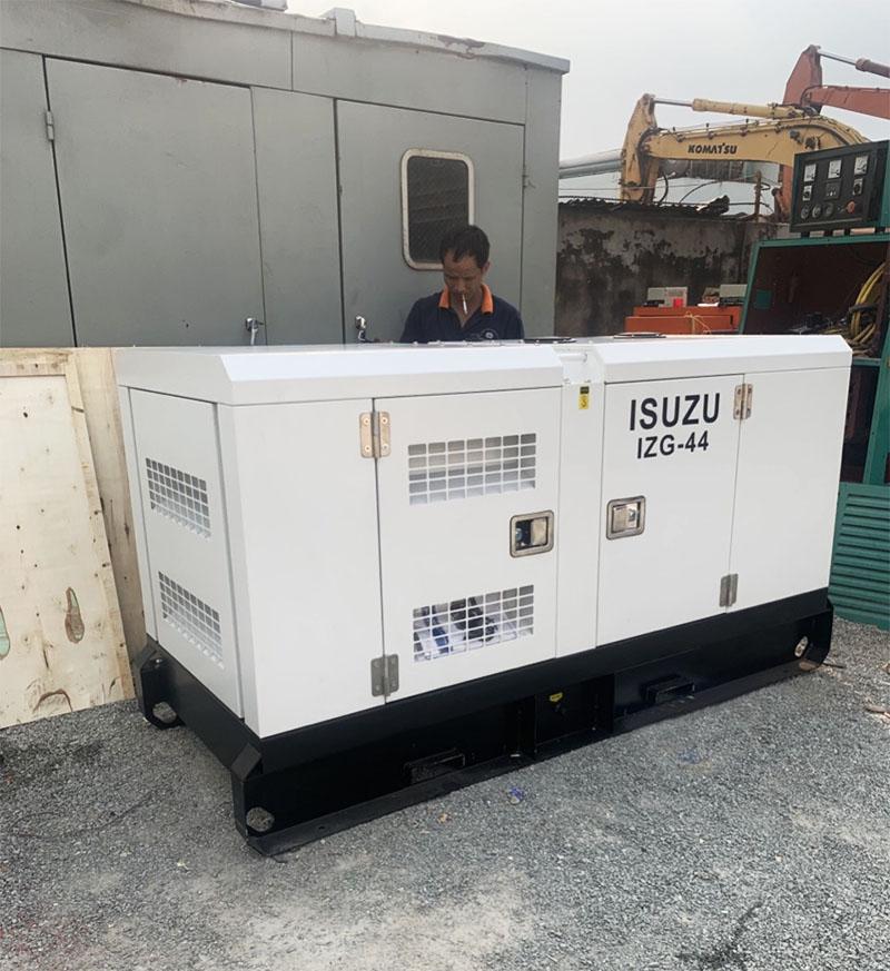 Máy phát điện Isuzu 40kVA cho bệnh viện tâm thần Đồng Nai