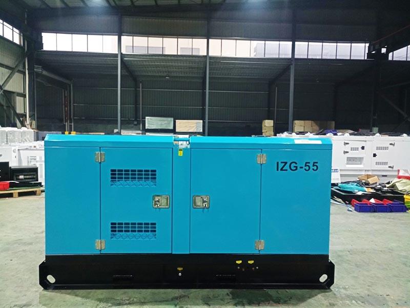 Cung cấp máy phát điện Isuzu 50kVA cho công an PCCC TP. Huế