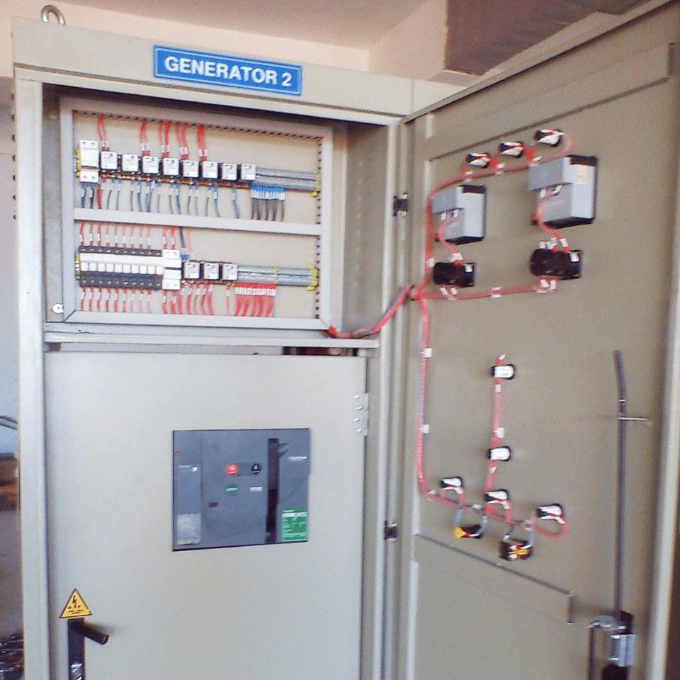 Tủ hoà đồng bộ máy phát điện