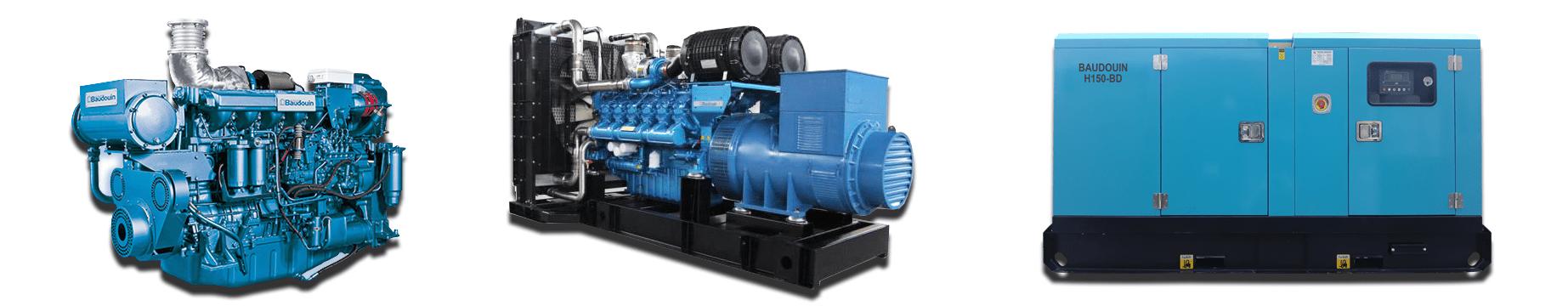 Máy phát điện Baudouin nhập khẩu
