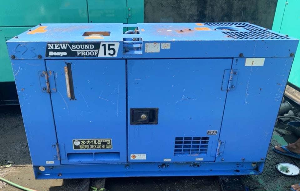 Máy phát điện Nhật Denyo cũ công suất 15kVA