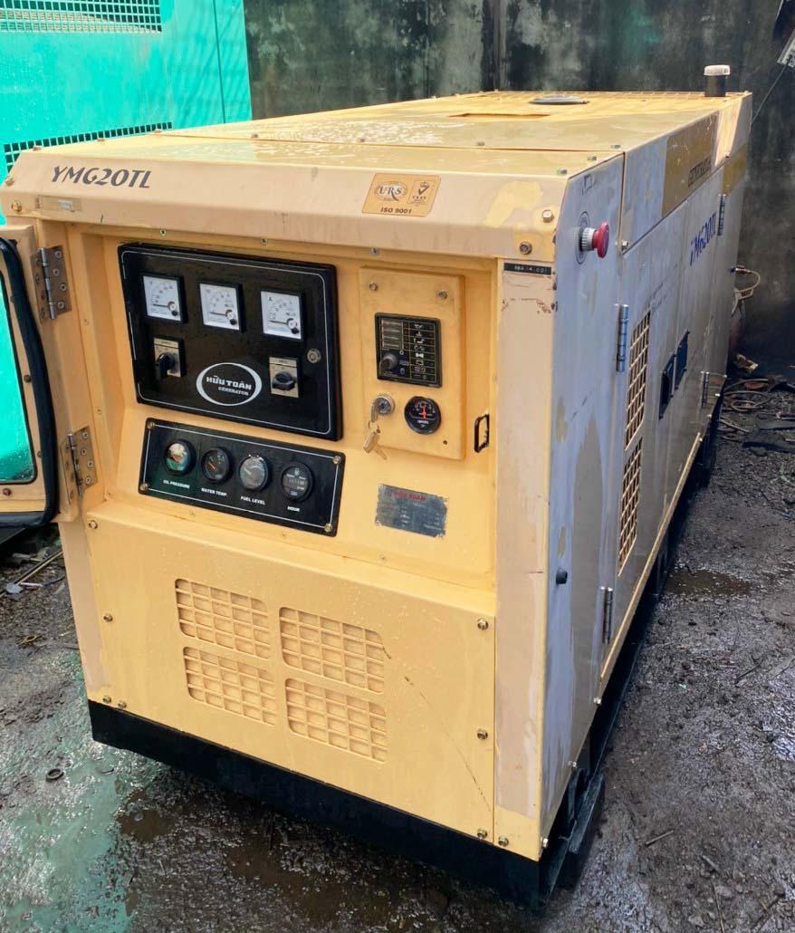Máy phát điện Nhật Yanmar cũ công suất 20kVA