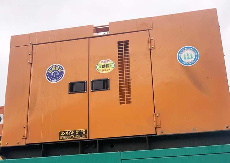 Máy phát điện Nhật Denyo cũ công suất 25kVA đến 500kVA