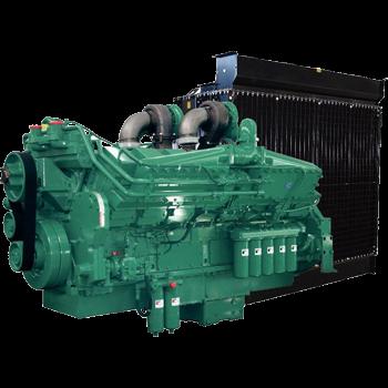 Động cơ máy phát điện Cummins 1125kva KTA38 Series