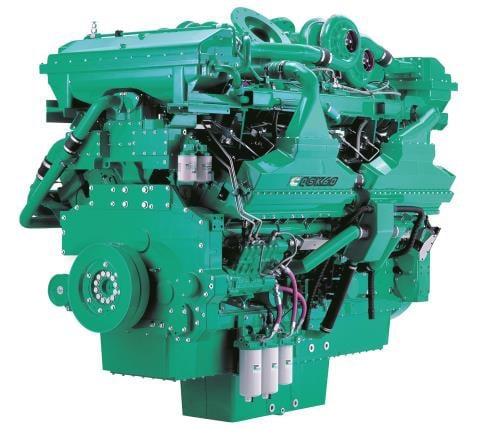 Động cơ máy phát điện Cummins QSK60 Seri