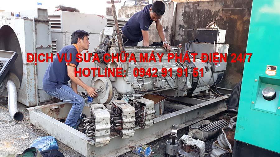 Dịch vụ sửa chữa máy phát điện 24/7 tại HCM và các tỉnh thành lân cận